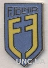 футбольный клуб Фьолнир (Исландия) ЭМАЛЬ /UMF Fjolnir,Iceland football pin badge