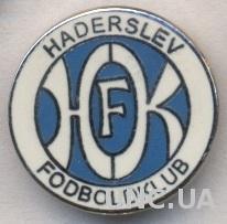 футбольный клуб Хадерслев (Дания) ЭМАЛЬ /Haderslev FK,Denmark football pin badge