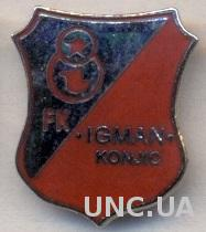 футбольный клуб Игман (Босния), ЭМАЛЬ / Igman Konjic, Bosnia football pin badge