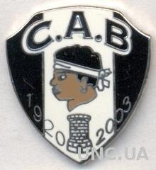футбольный клуб КА Бастия (Франция) ЭМАЛЬ / CA Bastia, France football pin badge