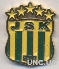 футбольный клуб Кабилия (Алжир) тяжмет / JS Kabylie, Algeria football pin badge