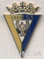 футбольный клуб Кадис (Испания) ЭМАЛЬ / Cadiz CF,Spain football enamel pin badge