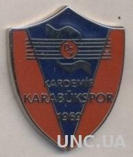 футбольный клуб Карабюкспор (Турция) ЭМАЛЬ /Karabuk SK,Turkey football pin badge