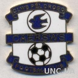 футбольный клуб Кайрсус (Уэльс) ЭМАЛЬ / CPD Caersws FC, Wales football pin badge