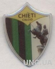 футбольный клуб Кьети (Италия), тяжмет / Chieti Calcio, Italy football pin badge
