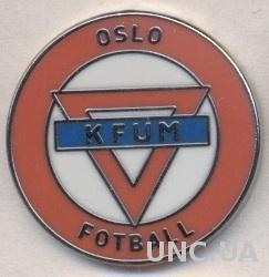 футбольный клуб КФУМ Осло (Норвегия) ЭМАЛЬ / KFUM Oslo,Norway football pin badge