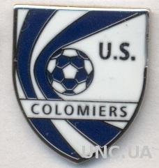 футбольный клуб Коломье (Франция) ЭМАЛЬ / US Colomiers,France football pin badge