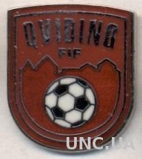 футбольный клуб Квидинг (Швеция)2 ЭМАЛЬ / Qviding FIF, Sweden football pin badge