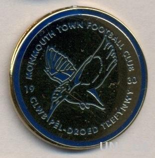 футбольный клуб Монмут (Уэльс) ЭМАЛЬ / Monmouth Town FC,Wales football pin badge