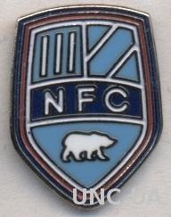 футбольный клуб Нюкебинг (Дания) ЭМАЛЬ / Nykobing FC, Denmark football pin badge