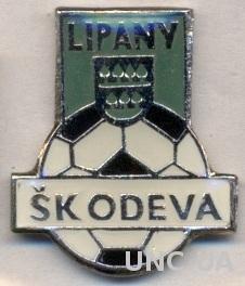 футбольный клуб Одева (Словакия), тяжмет / Odeva Lipany, Slovakia football badge