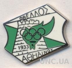 футбольный клуб Отеллос(Кипр) ЭМАЛЬ /Othellos Athienou,Cyprus football pin badge