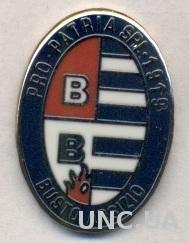 футбольный клуб Про Патрия (Италия)2 ЭМАЛЬ / Pro Patria,Italy football pin badge
