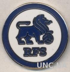 футбольный клуб РФС Рига (Латвия)2 ЭМАЛЬ / RFS Riga, Latvia football pin badge