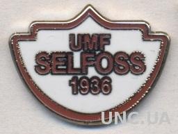 футбольный клуб Селфосс (Исландия) ЭМАЛЬ /UMF Selfoss,Iceland football pin badge