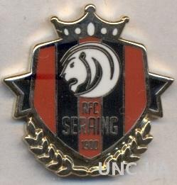футбольный клуб Серен (Бельгия)1 ЭМАЛЬ / RFC Seraing, Belgium football pin badge