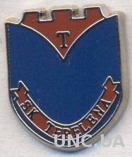 футбольный клуб Тепелена (Албания) ЭМАЛЬ /SK Tepelena,Albania football pin badge