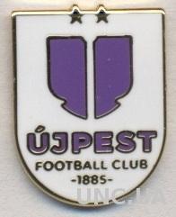 футбольный клуб Уйпешт (Венгрия)2 ЭМАЛЬ / Ujpest FC, Hungary football pin badge