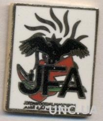Иордания,федерация футбола,№3 ЭМАЛЬ /Jordan football federation enamel pin badge