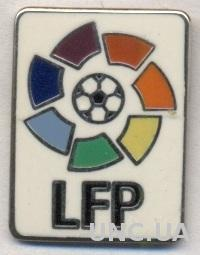 Испания, футбол(федерация) Премьер-лига,ЭМАЛЬ / Spain football La Liga pin badge