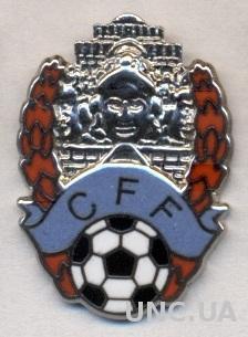 Камбоджа, федерация футбола, №5, ЭМАЛЬ / Cambodia football federation pin badge