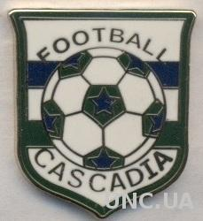 Каскадия, федер.футбола (не-ФИФА) ЭМАЛЬ / Cascadia football federation pin badge