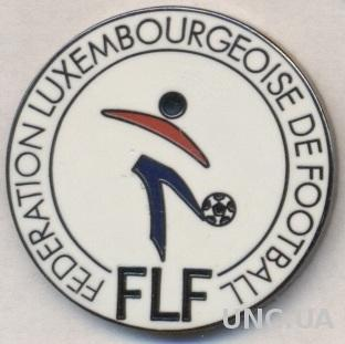 Люксембург, федерация футбола, ЭМАЛЬ большой / Luxemburg football federation pin