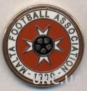 Мальта, федерация футбола, №4, ЭМАЛЬ / Malta football association federation pin