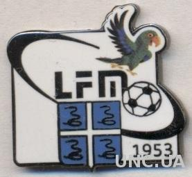 Мартиника, федерация футбола,№2, ЭМАЛЬ /Martinique football federation pin badge