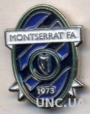 Монтсеррат,федерация футбола,№2 тяжмет /Montserrat football federation pin badge