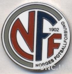 Норвегия,федерация футбола,№6 ЭМАЛЬ /Norway football federation enamel pin badge