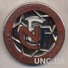 Норвегия,федерация футбола,№7 ЭМАЛЬ /Norway football federation enamel pin badge