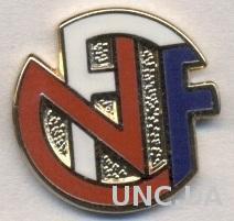 Норвегия,федерация футбола,№8 ЭМАЛЬ /Norway football federation enamel pin badge