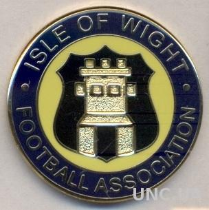 О-в Уайт, федер.футбола (не-ФИФА)2 ЭМАЛЬ / Isle of Wight football federation pin