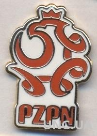 Польша, федерация футбола,№4 ЭМАЛЬ / Poland football federation enamel pin badge