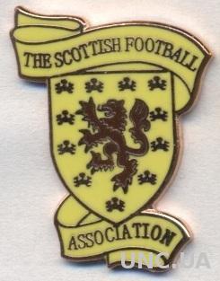 Шотландия, федерация футбола, №5, ЭМАЛЬ / Scotland football federation pin badge