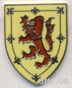 Шотландия, федерация футбола, №6, ЭМАЛЬ / Scotland football federation pin badge
