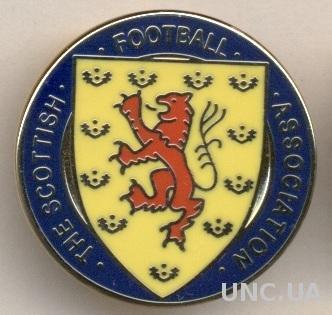 Шотландия, федерация футбола, №7, ЭМАЛЬ / Scotland football federation pin badge
