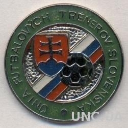 Словакия, федер.футбола-тренеры, ЭМАЛЬ /Slovakia football coaches federation pin