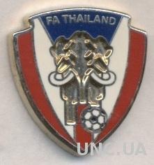 Таиланд, федерация футбола, №5, ЭМАЛЬ / Thailand football federation pin badge
