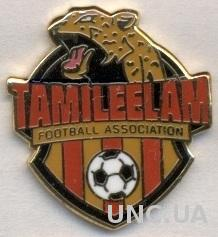 Тамил Илам, федер.футбола (не-ФИФА)3 ЭМАЛЬ / Tamil Eelam football federation pin