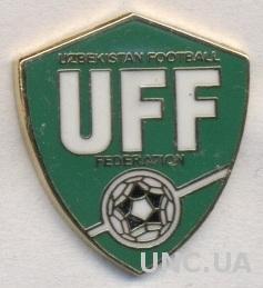 Узбекистан, федерация футбола,№3 ЭМАЛЬ /Uzbekistan football federation pin badge