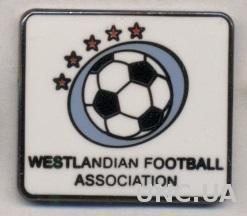 Вестландия,федерация футбола (не-ФИФА) ЭМАЛЬ /Westlandia football federation pin