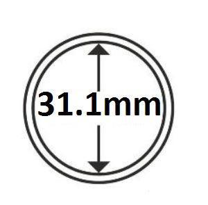 Капсула для монети 31,1 мм (на 2 грн Україна) Schulz Marcia Poland