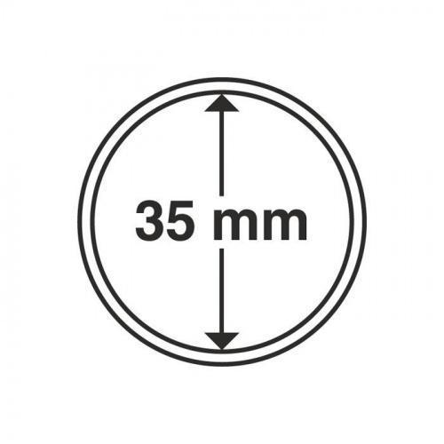 Капсула для монети 35,0 мм (на 5 грн Україна) Schulz Marcia Poland