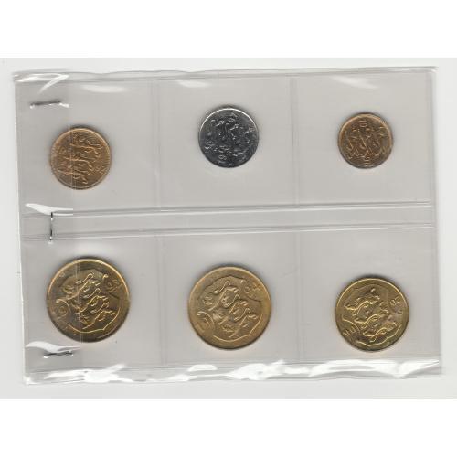 монети Естонія 6 шт.  Eesti