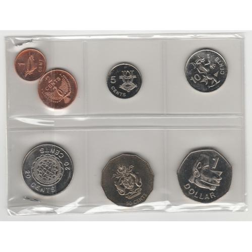 монети Соломонові Острови 7 шт.   Solomon Islands