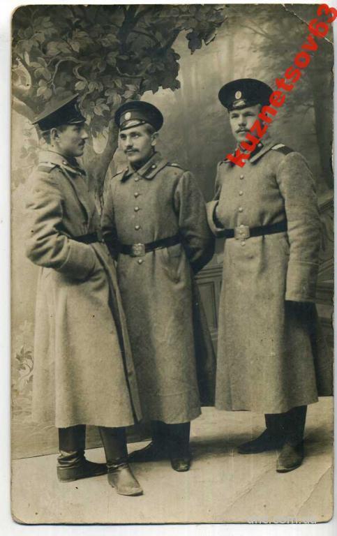 ФОТО. УНТЕРОФИЦЕР.  1911