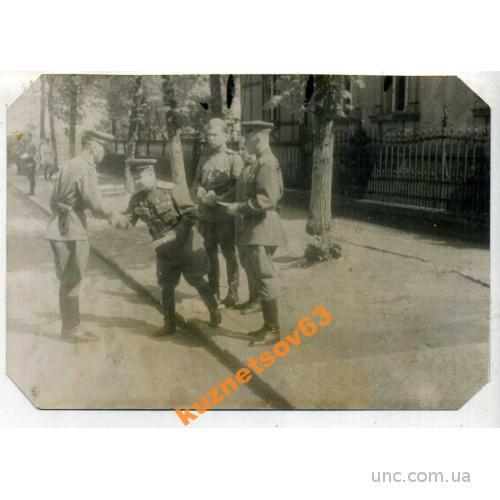 ФОТО. ВОЕННЫЕ. ВРУЧЕНИЕ НАГРАД. 1945