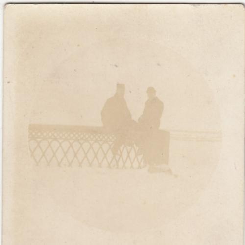 ФОТО.  ЗИМА НА ДНЕПРЕ. КИЕВ. 1910